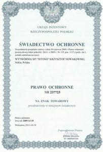 Sita Nekla Certyfikat